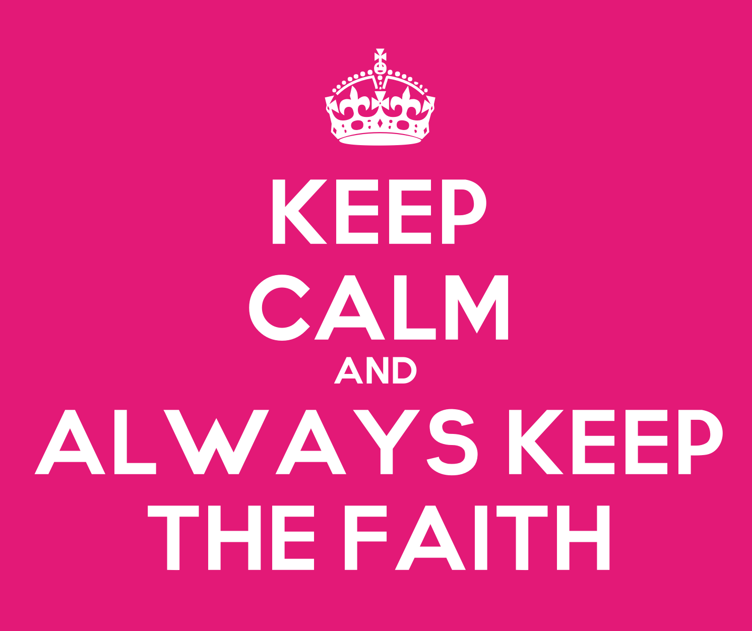 how to keep faith for your life